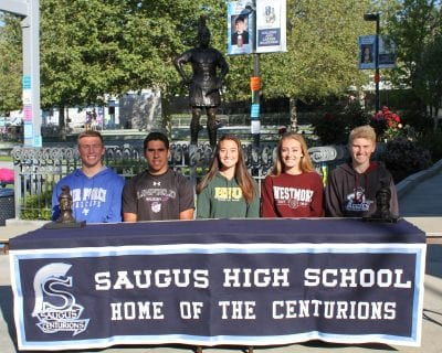 Foothill League athletes make college choices official