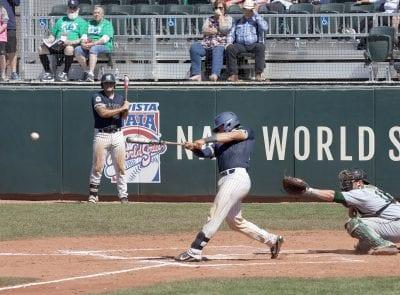 TMU baseball wins World Series opener