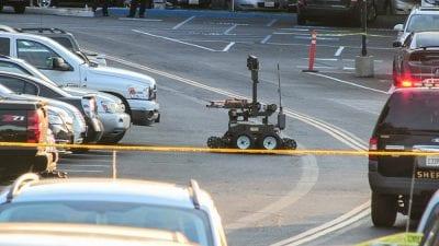 How Thursday's Bomb Scare Unfolded