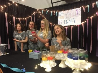 Students learn about product design, sales at Math Market