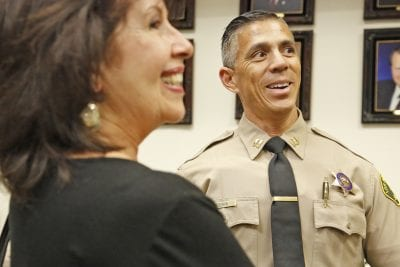 New Santa Clarita Valley Sheriff's Station captain speaks to residents at city event