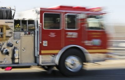 Brush fire closes Interstate 210 in both directions