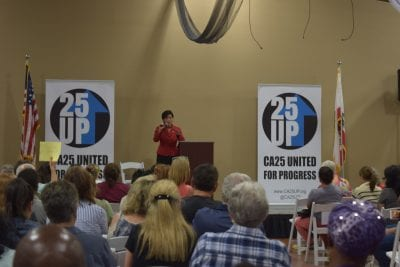 Rep. Chu speaks on Federal issues, garners support from local Democrats