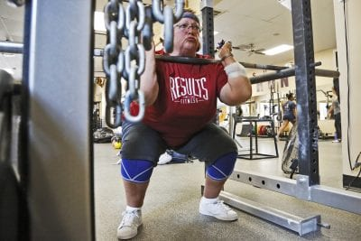 71-year old powerlifter from Saugus wins international gold