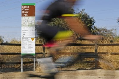 City helps trail users find their way with new signs