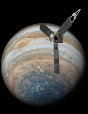 NASA's Juno Spacecraft Completes Flyby over Jupiter's Great Red Spot