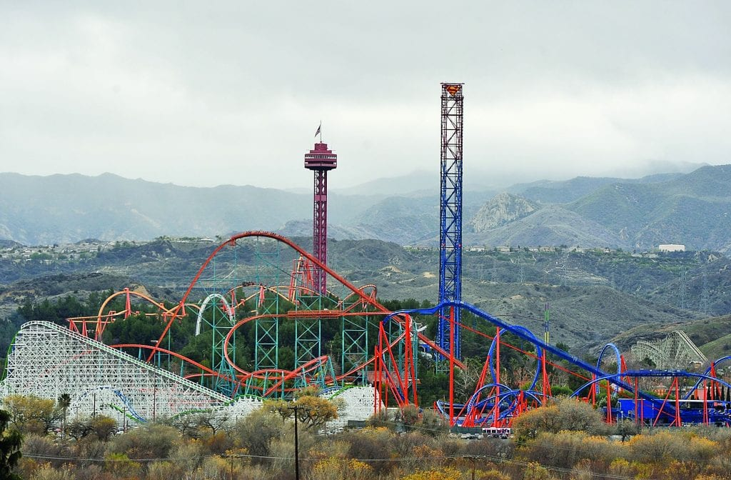Six Flags Magic Mountain Expands To Year Round Schedule