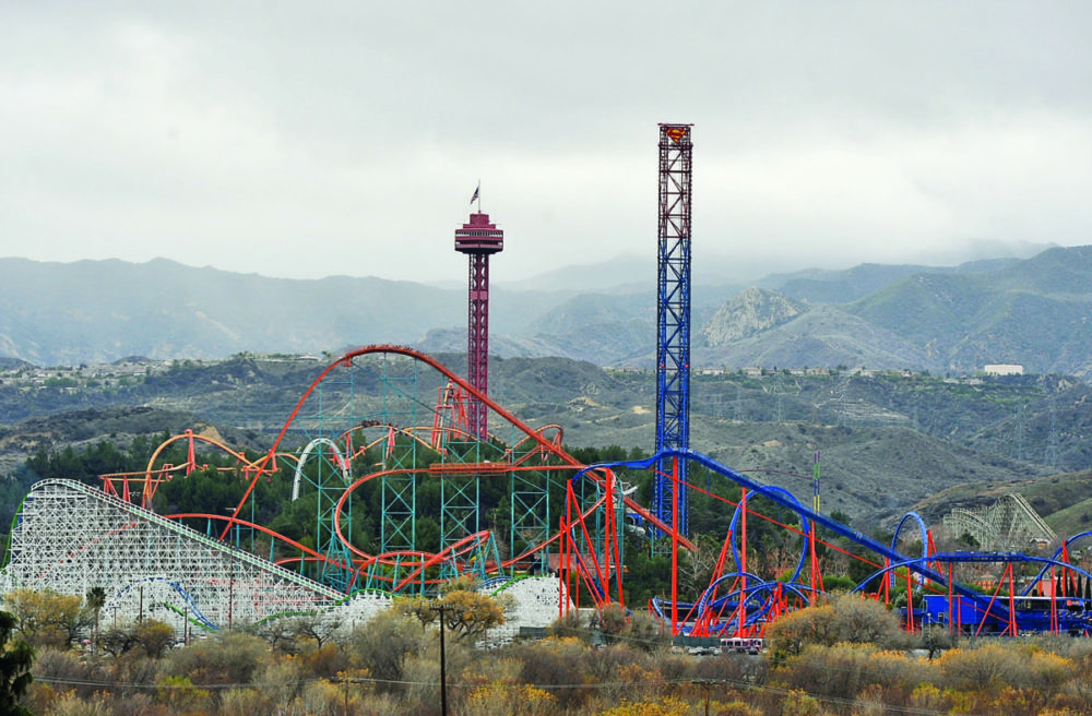 Six Flags officials standing by for state visit on reopening
