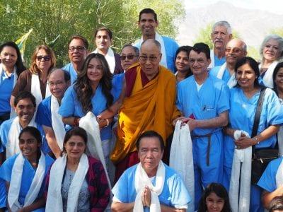 Henry Mayo team works at Dalai Lama's Hospital in India