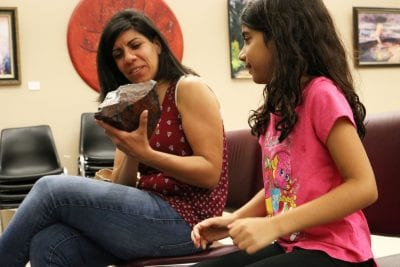 Geology and live animals enamor residents at Valencia Library