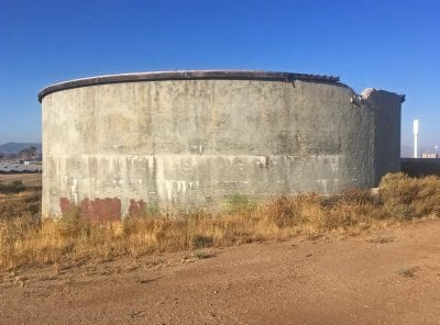 'Nuisance' water tank to be torn down