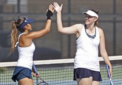 Saugus girls tennis uses youth to beat Alemany