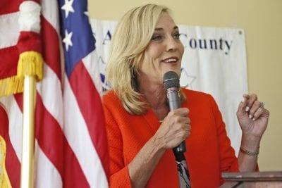 Barger addresses Republican women about party, political problems