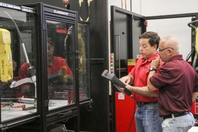 COC partners with Lincoln Electric for robotic welding training