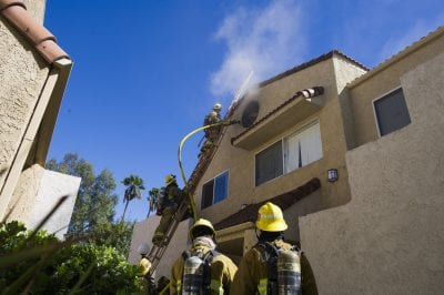Water heater causes apartment fire in Canyon Country