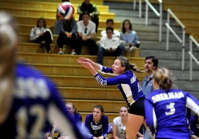 Valencia volleyball's playoff run ends in quarterfinals
