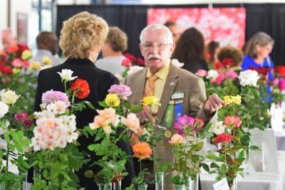 Wild West Rose Show held for budding rose enthusiasts