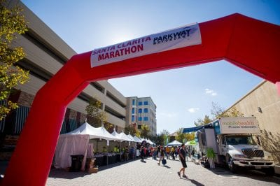 Marathon runners make final preparations at Health and Fitness Expo