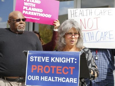 Local Democrats bring awareness to ACA open enrollment