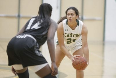 Ribet Academy's height too tall a task for Canyon girls basketball
