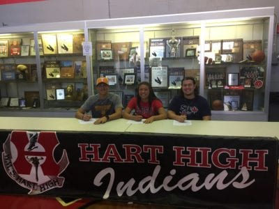 SCV athletes seal college choices on National Signing Day