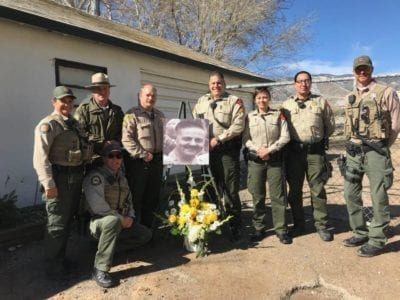 Deputies honor one of their own killed in the line of duty