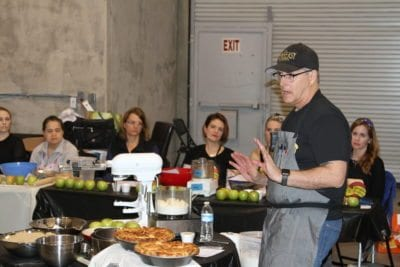 FeedSCV hosts apple pie class as prelude to Pi Day fundraiser