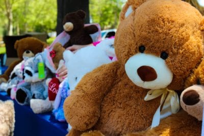 Teddy bear donations brings smiles and love all for a good cause