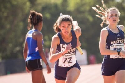 Canyon grad leads Master's track into NAIA nationals