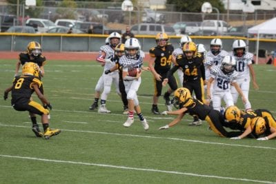 Saugus Spartan Youth Football hosts registration and fundraiser