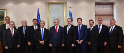 Knight meets with Israeli officials at new embassy, responds to pastors controversy