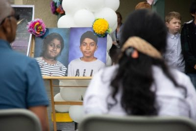 School holds celebration of life for family that perished in flooded river
