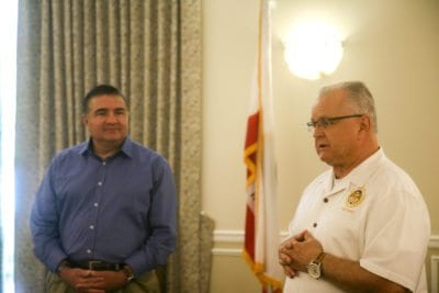 Assemblymen Acosta, Lackey speak openly with local residents