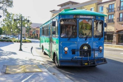 Six Flags Magic Mountain trolley adds Old Town Newhall stop