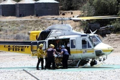 Two airlifted to Henry Mayo after Gorman motorcycle crash