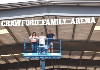 Carousel Ranch honors Crawford family contribution