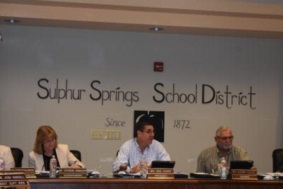 School district pursues grant to replace buses
