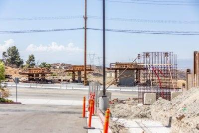 Pedestrian Bridge installation to cause Sierra Highway closure Friday night