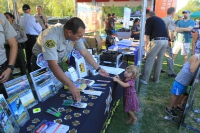 Residents receive info on how to be safe and protect their streets at National Night Out