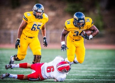Canyons offensive lineman Justice Spates commits to University of New Mexico