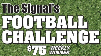 Football Challenge: Week 6 Results, Week 7 Entry Forms Available