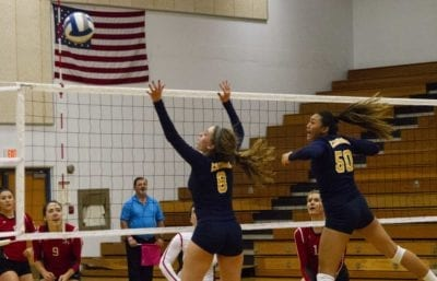 COC volleyball builds early lead but can't hang on against Bakersfield College