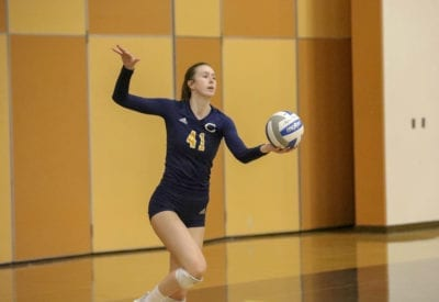 COC Insider: Canyons volleyball's Grace Ferguson leading the way behind strong defensive play