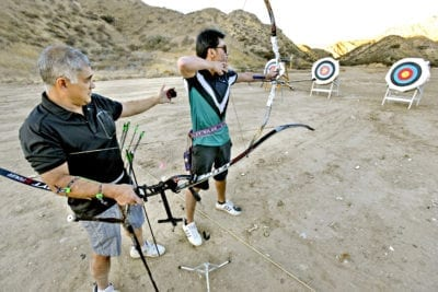 New archery range opens in Haskell Canyon Open Space