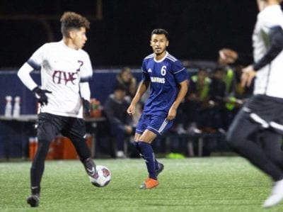 Late goal keeps COC men's soccer from securing conference title against Antelope Valley College