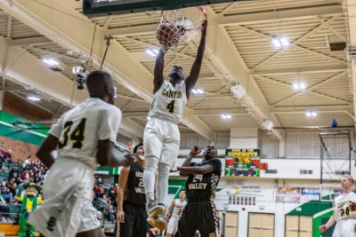 Canyon boys basketball pulls away from Golden Valley in second half