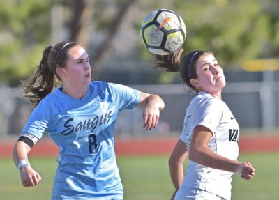 Valencia girls soccer utilizes strong first half to defeat Saugus