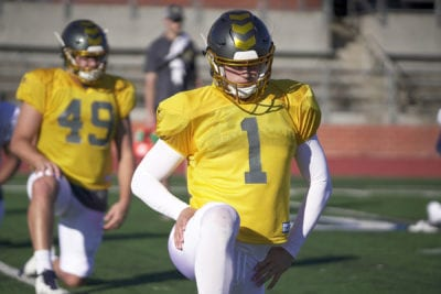 Valencia football product Cole Murphy signs with pro football team