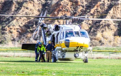 UPDATE: Mother, child attacked by family dog, airlifted to hospital