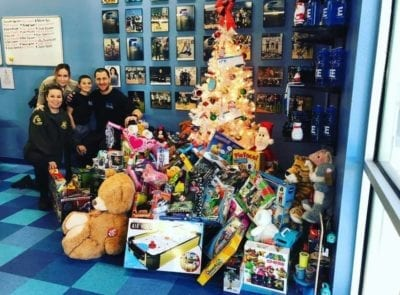 Deputies thank SCV businesses for Toy Drive help